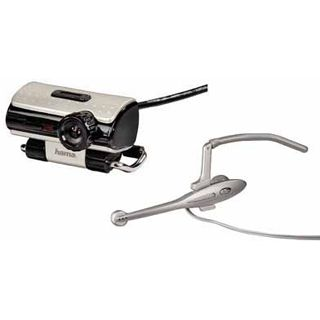 Hama 11596 Webcam + Headset AC-140