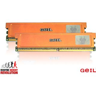 4GB GeIL Ultra Plus DDR2-1066 DIMM CL5 Dual Kit