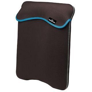 "Manhattan Notebook Sleeve reversibel 12.1"" (30,73cm) schwarz grau"