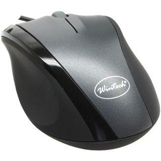 WinTech CM-1025 USB schwarz/silber (kabelgebunden)