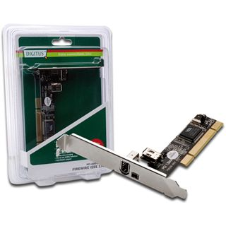 Digitus DS-33202 3 Port PCI Low Profile retail