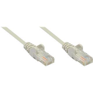 (€0,33*/1m) 15.00m Inter-Tech Cat. 5 Patchkabel UTP RJ45 Stecker auf RJ45 Stecker beige Twisted Pair