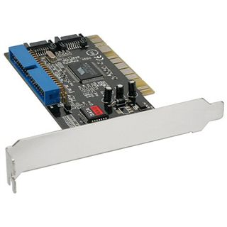 InLine Schnittstellenkarte, 2x SATA+IDE mit RAID, PCI