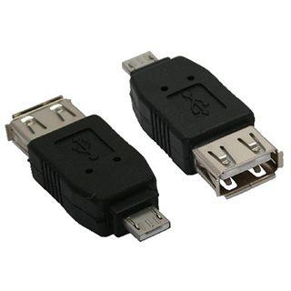Micro-USB Adapter Micro-A Stecker an USB A Buchse