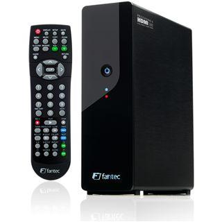 """1000GB Fantec Mediarecorder MM-HDRL 3.5"""" (8.89cm) Schwarz USB 2.0/LAN"""