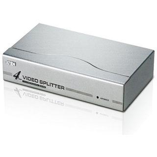 ATEN Technology VS94A 4-fach VGA-A/V-Splitter