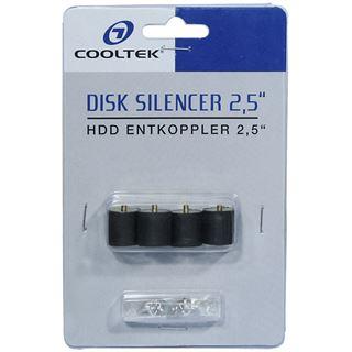 """Cooltek Disk Silencer 2,5"""" HDD Entkoppler"""