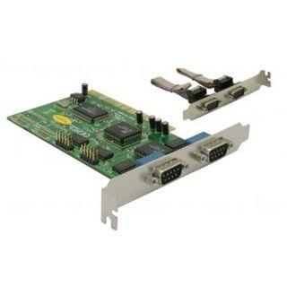 Delock 89046 4 Port PCI zweites Slotblech retail