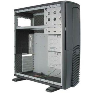 ATX Chieftec Dragon DX-01BD-U-OP gedämmt Midi Tower o.NT Schwarz