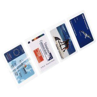 Hama Laminierfolie für Visitenkarten, 125µ,