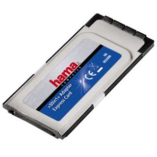Hama PCMCIA-ExpressCard-Adapter, 32 bit, 30in1