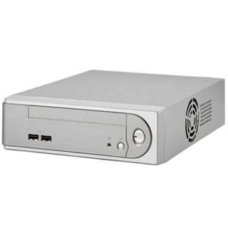 Inter-Tech Cubid 3677 ITX Tower 60 Watt silber