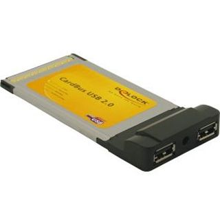 Delock 61604 2 Port PCMCIA retail