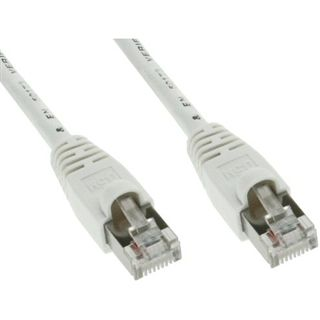 (€2,60*/1m) 1.50m InLine Cat. 5e Patchkabel SF/UTP RJ45 Stecker auf RJ45 Stecker Weiß