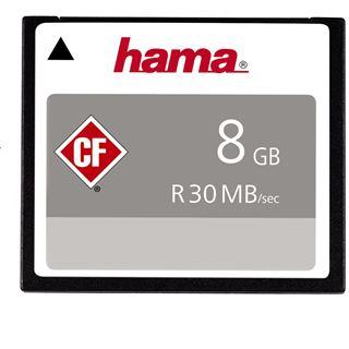 8 GB Hama High Speed Pro Compact Flash TypI 200x Bulk