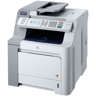 Brother DCP-9042CDN Multifunktion Laser Drucker 2400x600dpi LAN/USB2.0