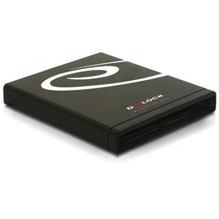 "5.25""(13,34cm) Delock 42127 SlimLine IDE zu USB 2.0 Schwarz"