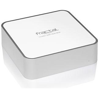 "3,5"" (8,89cm) Fractal Cluster BOX SATA -> USB/ eSATA Weiß"