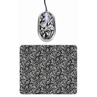 Saitek Expression Mouse & Pad - thistle print