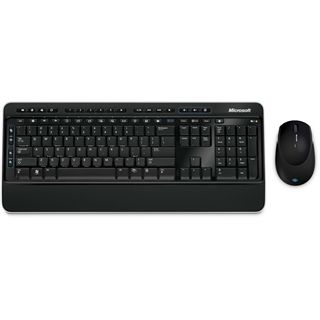 Microsoft Wireless Desktop 3000 Deutsch USB schwarz