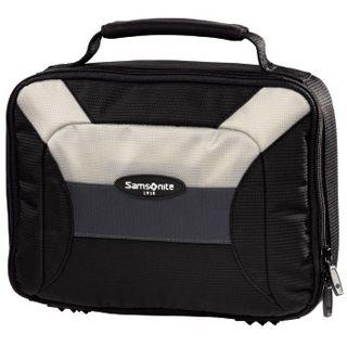 Samsonite 3,5-HDD-Tasche Korsika, Schwarz/Beige