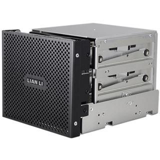 """Lian Li schwarzer Festplattenkäfig für 3x 3.5"""" oder 2.5"""" Festplatten (EX-332B)"""
