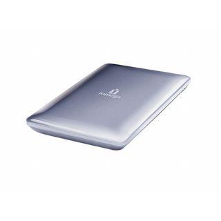 """500GB Iomega eGo Compact Firewire 2.5"""" (6.35cm) Silber USB2.0"""