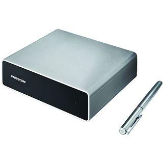 "500GB Freecom Hard Drive Quattro 3.5"" (8.89cm) Silber USB2.0/eSATA/FireWire"