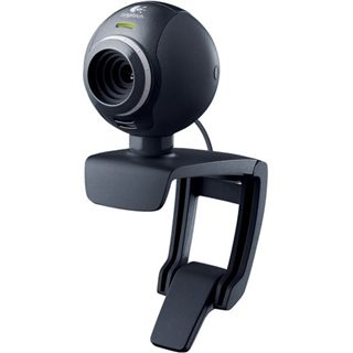 Logitech Web Kamera C300 1.3 MPixel 1280x1024 Schwarz USB 2.0