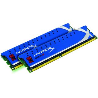 4GB Kingston HyperX DDR3-1333 DIMM CL9 Dual Kit