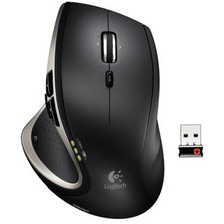 Logitech Performance Mouse MX USB schwarz (kabellos)