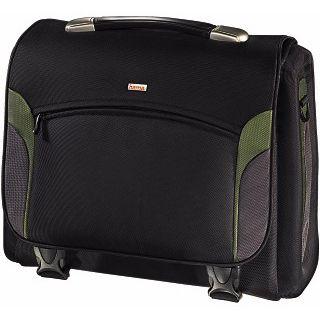 Hama Notebook-Tasche Kansas 17 Schwarz/Grün