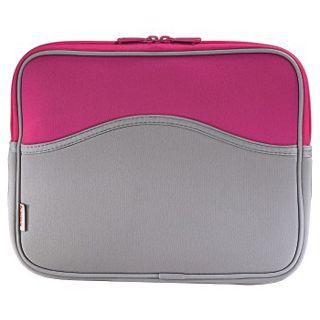 "Hama Notebook-Cover Memory 12.1"" (30,7cm) grau/pink"