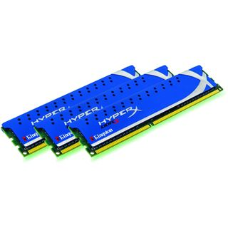 3GB Kingston HyperX DDR3-1600 DIMM CL8 Tri Kit