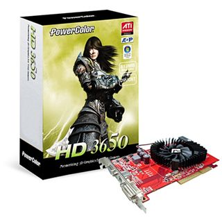 512MB Powercolor Radeon HD 3650 DDR2 AGP
