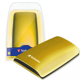 "500GB Verbatim Portable Colour Edition 47640 2.5"" (6.4cm) USB 2.0 gelb"