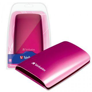 "500GB Verbatim Portable pink 2,5"" (6,35 cm) USB 2.0"