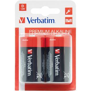Verbatim Batterie Alkaline D 2er