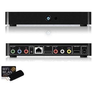 Fantec TV-FHDS Mediaplayer HDMI + WiFi schwarz