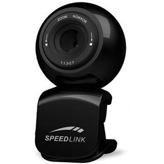 Speedlink Web Kamera SL-6841-SBK Magnetic 1.3 MPixel 640x480 Schwarz USB 2.0