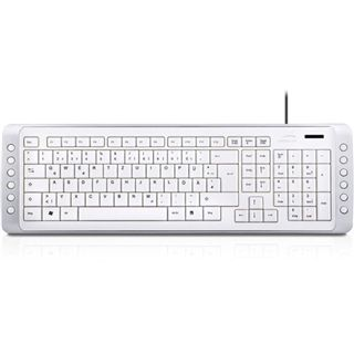 Speedlink Snappy Tastatur Weiß Deutsch USB