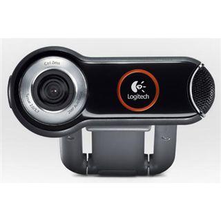 Logitech Web Kamera Pro 9000 2.0 MPixel 1600x1200 Schwarz/Grau USB 2.0