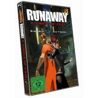 Runaway - A Twist of Fate CD-Rom (PC)