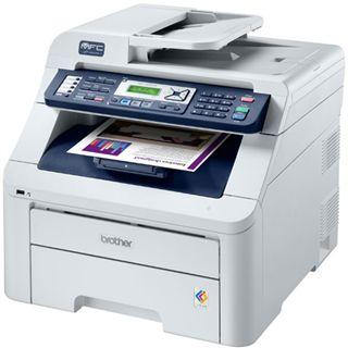Brother MFC-9320CW Farblaser Drucken/Scannen/Kopieren/Faxen LAN/USB 2.0/WLAN