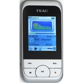 4GB Teac MP3 Player Video silber