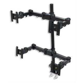 Manhattan LCD Monitor Arm für 4 Monitore
