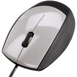 Hama M360 USB schwarz/silber (kabelgebunden)