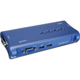 Trendnet TK-407K 4-fach Desktop KVM-Switch