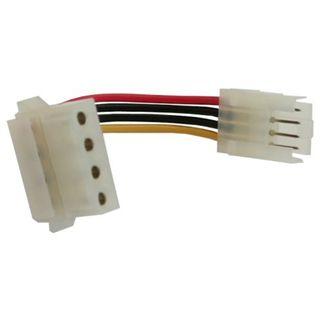 InLine Strom Adapter Buchse (3,5) auf Stecker (5,25cm) 6cm