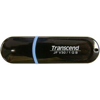 1GB Transcend JetFlash V30 Schwarz USB 2.0 Stick